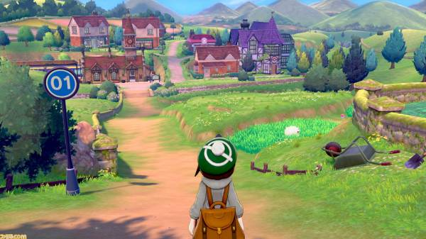 Pokémon Sword and Shield is a masterpiece for showing grass